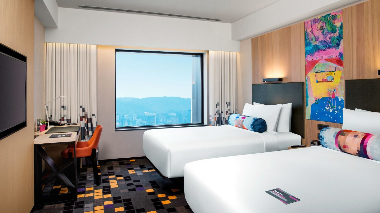 Aloft Room - City View - Twin